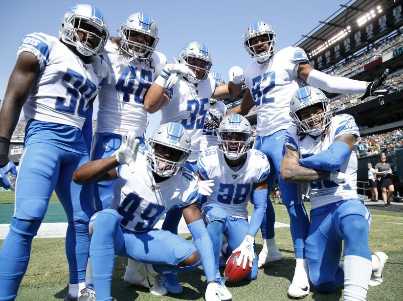Detroit Lions vPhiladelphia Eagles