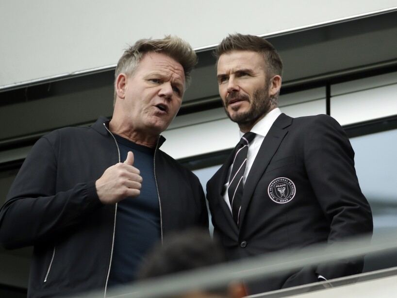 David Beckham, Gordon Ramsay