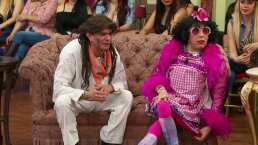 Rosa Concha se pone celosa y le da un beso a El Gamborimbo