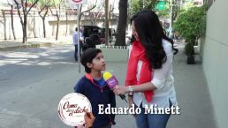 ENTREVISTA: ¡Eduardo Minett se convierte en un pequeño héroe!