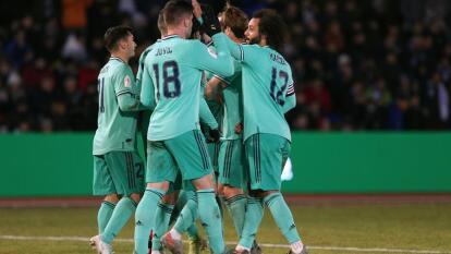 Con goles de de Gareth Bale, Brahim Díaz y autogol de Juan Góngora, el Real Madrid se impone 1-3 en su visita al Unionistas de Salamanca.