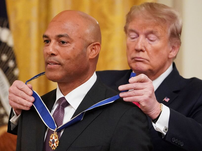 US-POLITICS-MEDAL OF FREEDON-TRUMP