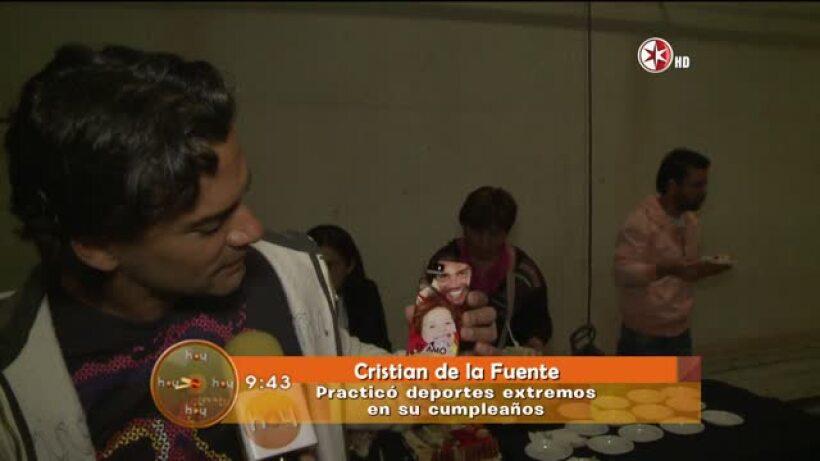 Feliz cumpleaños a Cristian de la Fuente