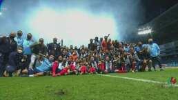 Así festejó Rayados de Monterrey el título de Copa MX en el campo