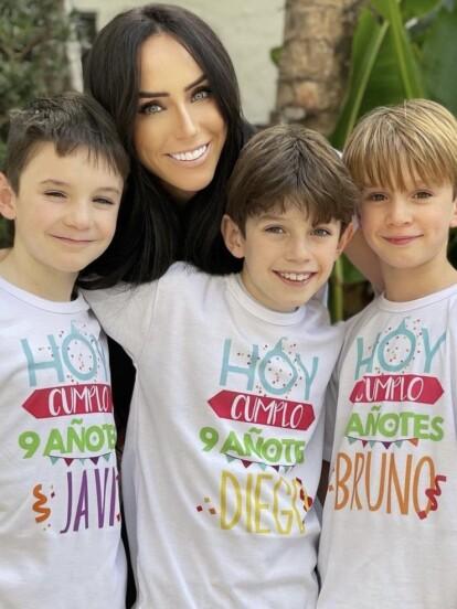 Con una íntima fiesta familiar, Inés Gómez Mont celebró el cumpleaños nueve de sus triates, el pasado lunes 18 de enero. A continuación, te mostramos las fotos que la conductora compartió en su cuenta oficial de Instagram.