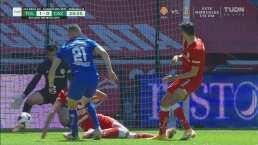 Se luce Luis García e impide el empate del Cruz Azul