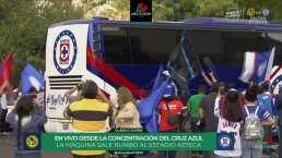 ¡América y Cruz Azul ya se encuentran en el Estadio Azteca!