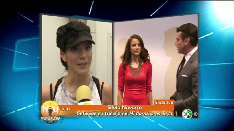 Silvia Navarro defiende su personaje