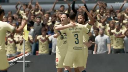 El Necaxa de Jairo González se llevó una 'manita' por parte de Gio dos Santos y el América en el torneo virtual de la eLiga MX.