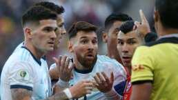 Messi no jugará ante México, por suspensión