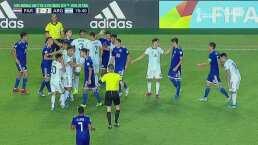 Termina en bronca el duelo de Paraguay vs Argentina en la Sub-17