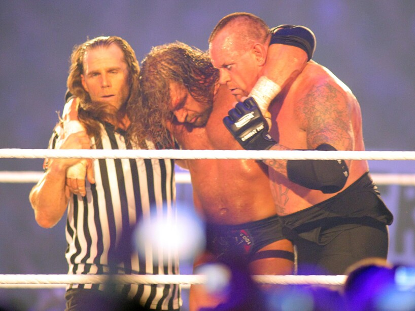 Shawn Michaels, Undertaker, H.H.H.