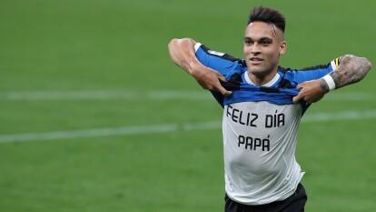 Lautaro Martinez (10) y Lukaku (33') fueron los anotadores del Inter en la victoria 2-1 en su casa ante Sampdoria.