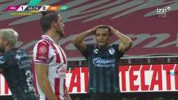 ¡Perdona Gallos! Daniel Cervantes tuvo el empate ante Chivas