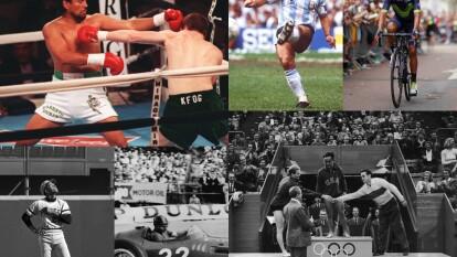 Estos deportistas han destacado por ser los mejores en sus disciplinas y por ello, se convirtieron en leyendas.