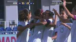 ¡Cayó la manita! Renae Cuéllar anota el 5-0 con pura velocidad