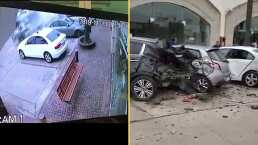 VIDEO: Sobrino de Pepillo Origel sufre accidente y vuelca su coche