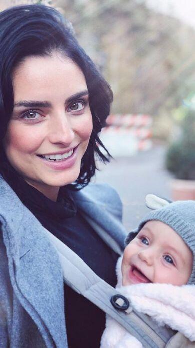 Luego de una crisis postparto, Aislinn Derbez admite que encontró refugio en chat de mamás