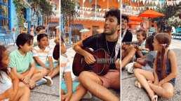 Sebastián Yatra luce más tierno que nunca al cantar 'Un Año' acompañado de estos niños