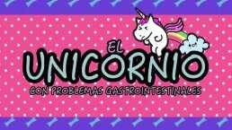 El unicornio con problemas intestinales