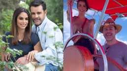 Eduardo Capetillo y Biby Gaytán tuvieron un viaje de pareja en un lindo lugar