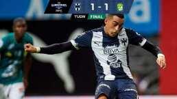 Rayados salva el empate de la mano de Funes Mori