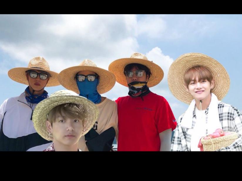 El extraño atuendo de BTS provocó una ola de memes