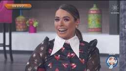 Galilea Montijo se queda sin diente postizo en plena transmisión de 'Hoy'