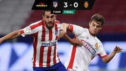 Con Héctor Herrera en banca, Atlético goleó a Mallorca