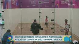 Paola Longoria gana en su debut en Lima