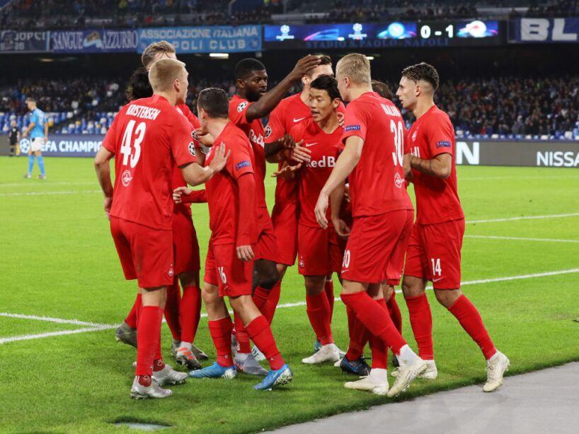 SSC Napoli v RB Salzburg: Group E - UEFA Champions League