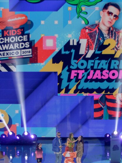 Los Kids' Choice Awards 2018 de Nickeodeon se llevaron a cabo en el Auditorio Nacional de la CDMX y fueron presentados por los YouTubers los Polinesios.