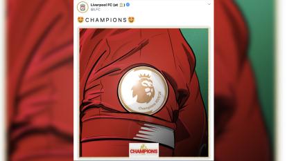 Desde LeBron James, hasta los clubes de la Premier League se tomaron un tiempo para felicitar al nuevo campeón de Inglaterra.