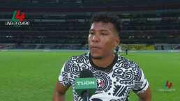 """Roger Martínez tras su gol ante Juárez: """"Quiero ser feliz"""""""