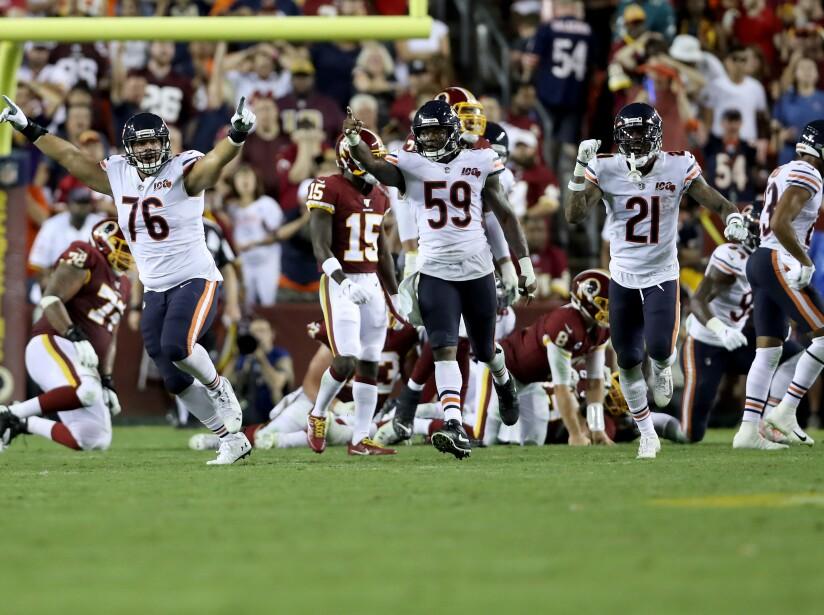 Chicago Bears vWashington Redskins