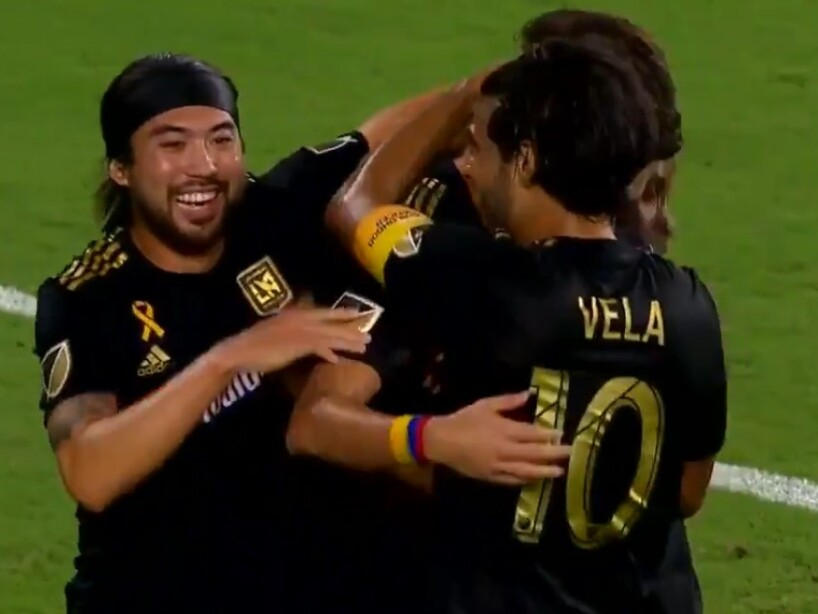 Carlos Vela y LAFC derrotaron a Houston Dynamo 3-1 y ganan la MLS Supporter's Shield.