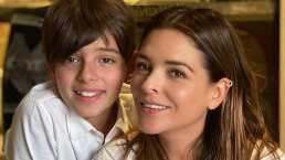 Santino, el hijo de Grettell Valdez y Patricio Borghetti debuta como actor