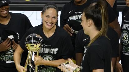 Sue Bird, la basquetbolista que lo ha ganado todo