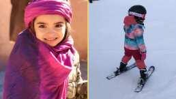 Aitana Derbez sorprende con talento para los deportes extremos; ¡esquía sin miedo como profesional!