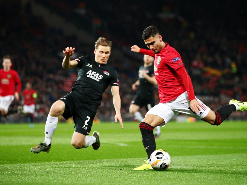 Los 'Red Devils' clasificaron a la siguiente ronda de la UEFA Europa League como primer lugar del Grupo L con 13 puntos. Young (53') abrió el marcador y Greenwood (58', 64') anotó los dos siguientes goles. Juan Mata (62') cobró un penal para sellar la goliza.