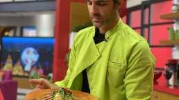 Cocina de hoy: Fettuccine con un toque de arúgula, ideal para comer ligero y saludable