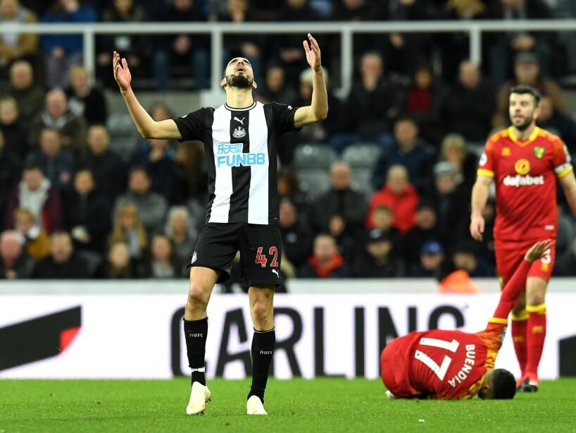 Newcastle United v Norwich City - Premier League