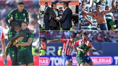 Santos derrota a domicilio 2-3 al Atlético San Luis y retoma el liderato en la Liga MX.
