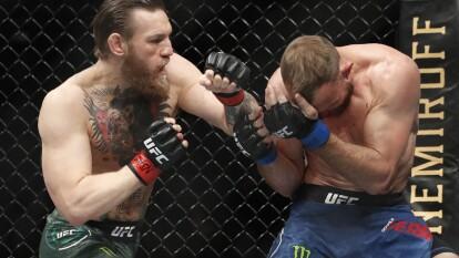 Le bastaron 40 segundos a Conor McGregor para acabar con su rival en una gran exhibición tras su regreso al octágono.