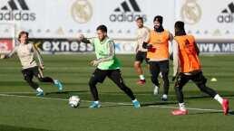 El Real Madrid volvió a entrenar en equipo 81 días después