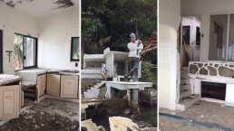 Así es como luce la casa abandonada de 'Cantinflas' en Acapulco