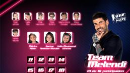 El Team Melendi se refuerza con estos nuevos integrantes