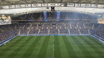 Espectacular estampa del Estadio Do Dragao