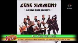Los Tigres del Norte compartirían escenario con Gene Simmons de Kiss
