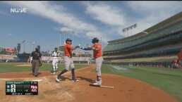 ¡Así se responde! Astros empata 3-3 con dos cuadrangulares